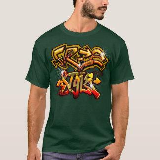 Frigör stil tee shirt