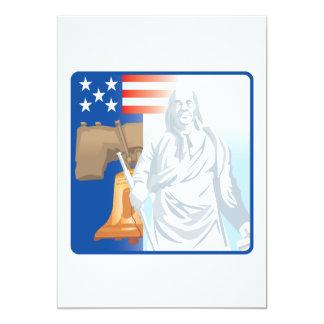 Frihet 12,7 X 17,8 Cm Inbjudningskort