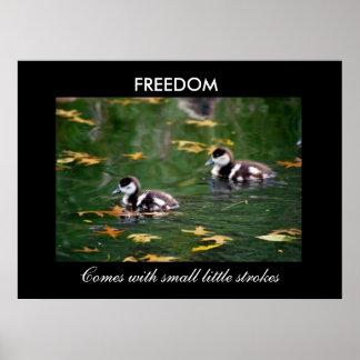 Frihet Affisch