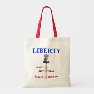 Frihet är inte på bordtotot tygkasse
