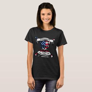 Frihet- eller dödkvinna T T-shirt