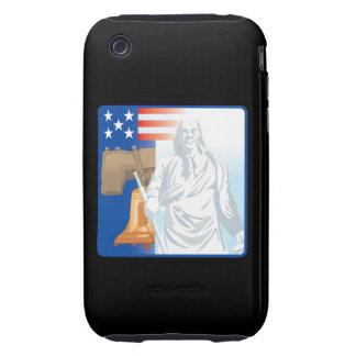 Frihet Tough iPhone 3 Fodral