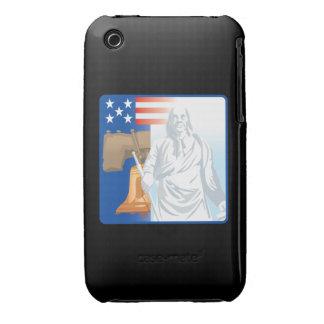 Frihet iPhone 3 Case-Mate Fodral