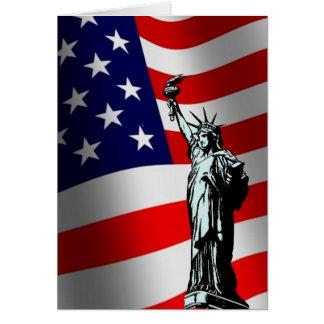Frihetmedborgarskapkort Hälsningskort