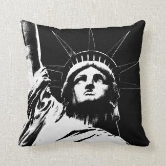 Frihetsgudinnan för den New York souvenir NY Kudde