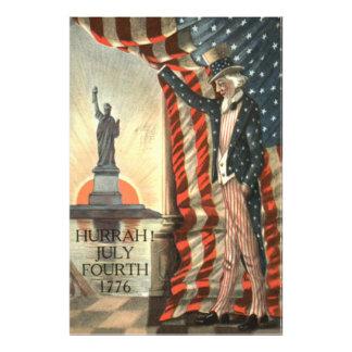 Frihetsgudinnan för US-flaggaUncle Sam