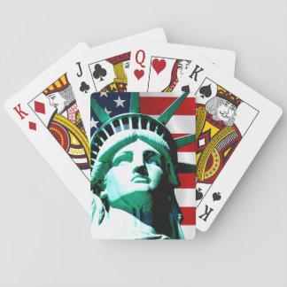 Frihetsgudinnan New York Casinokort