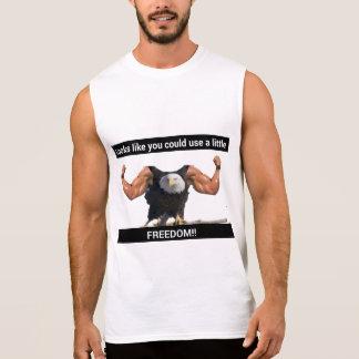 Frihetsörn Sleeveless T-shirts