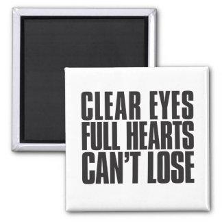 Frikänden synar, fulla hjärtor, kan inte förlora