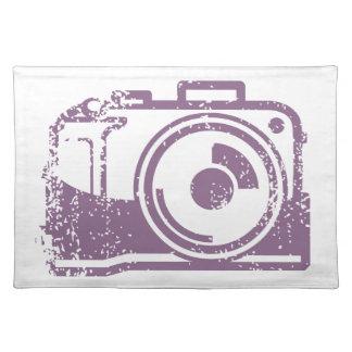 Frimärke för Grungefotokamera Bordstablett