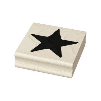 Frimärke för konst för stor landstjärna Rubber Stämpel