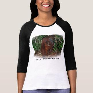 Fristad för Orangutanbeskyddskog Tröjor