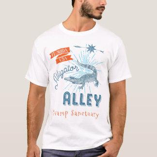 Fristad för träsk för alligatorgrändFlorida T-shirt