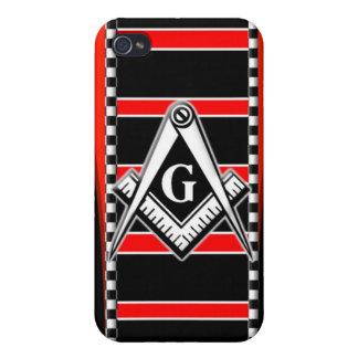 Fritt fodral för iPhone 4 för Mason (ledar- Mason) iPhone 4 Cover