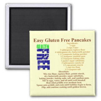 Fritt pannkakarecept för Gluten Magnet