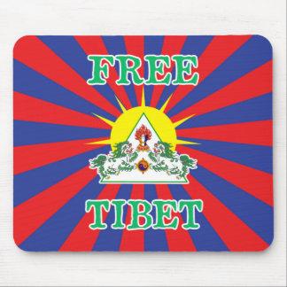 Fritt symbol för för Tibet snölejon och sol Musmatta