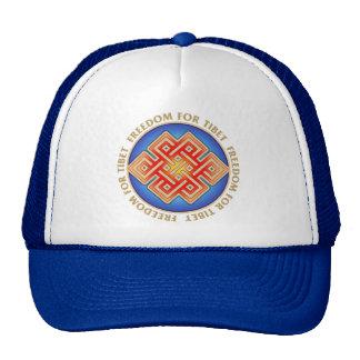 Fritt Tibet evigt fnurralock Keps