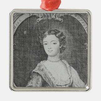 Fröcken Margaret Woffington, 1740 Julgransprydnad Metall
