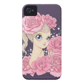 Fröcken rosa blackberry boldfodral (rosa/lilor) iPhone 4 fodraler
