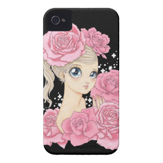 Fröcken rosa blackberry boldfodral (rosa/svarten) Case-Mate iPhone 4 case