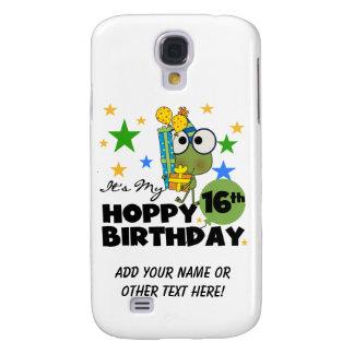 Froggie Hoppy 16th födelsedag Galaxy S4 Fodral