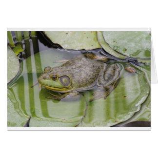 Froggy Hälsningskort