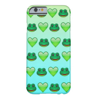 FroggyEmoji iphone case Barely There iPhone 6 Skal
