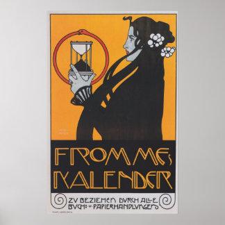 Frommes kalender poster