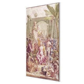 """Frontispiece av """"Hortus Cliffortianus"""" vid Carl Canvastryck"""