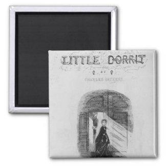 """Frontispiece """"lite Dorrit"""" vid Charles Magnet"""