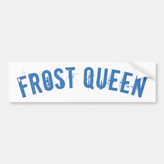 Frost queen bildekal