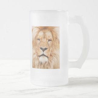 Frostad Glass lejon ölmugg Frostat Ölglas