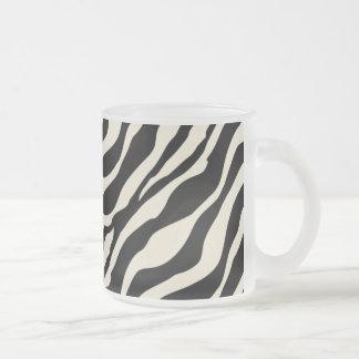 Frostad Glass mugg för zebra tryck