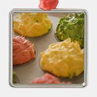 Frostad muffins julgransprydnad metall