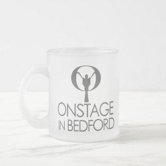 Frostad mugg för ONSTAGE logotyp