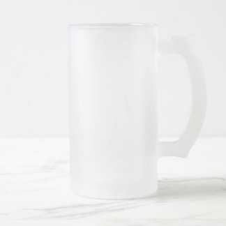 Frostat 16 uns frostade Glass Stein Frostad Glas Mugg