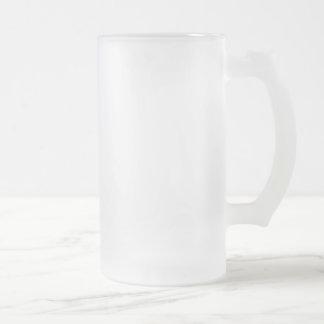 Frostat 16 uns frostade Glass Stein Frostad Glas Mugg