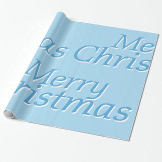 Frostig blåttgod jul som slår in papper 2 presentpapper