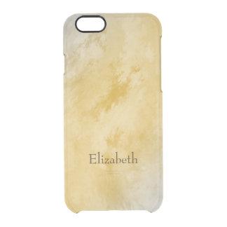 Frostiga persikor och kräm clear iPhone 6/6S skal