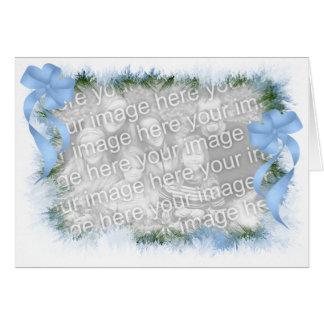 Frostigt helgdagkort - TBA Kort