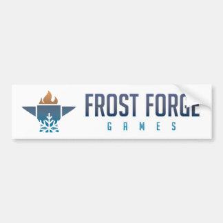 Frostsmedjan spelar bildekalet bildekal