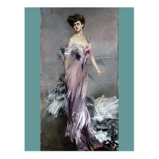 Fru Howard Johnston - Boldini Vykort