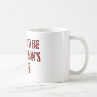 Fru jackson designer kaffemugg