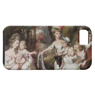 Fru Justinian Casamajor och åtta av henne barn, iPhone 5 Cases