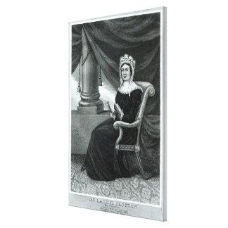 Fru Rachel Jackson Canvastryck