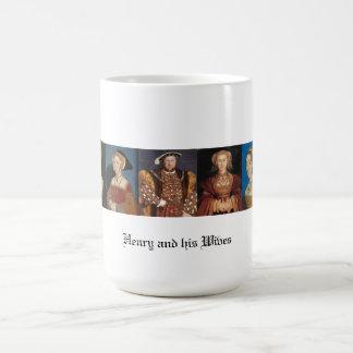 Fruarna av Henry VIII Kaffemugg