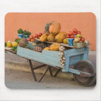 Frukt- och grönsakvagn, Kuba Mus Matta