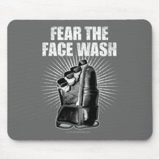 Frukta ansiktet tvättar (hockey) musmatta