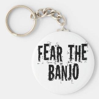 Frukta banjoen rund nyckelring
