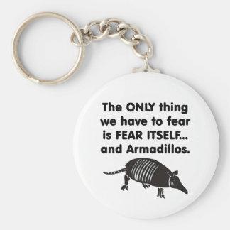 Frukta det sig själv Armdillos Rund Nyckelring